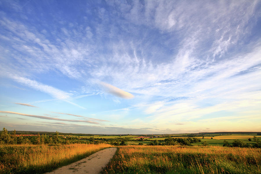 Big Skies Over Nottinghamshire Photograph by Doug Chinnery