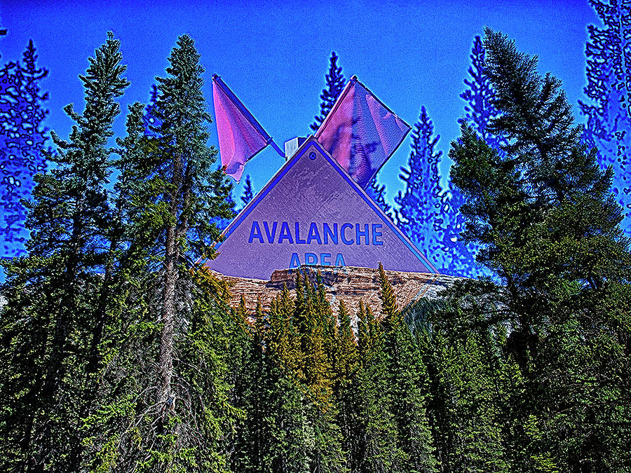 Avalanche by Jerald Blackstock