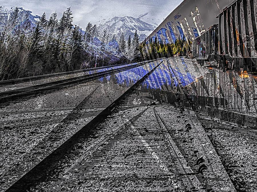 Big Steel Rail by Jerald Blackstock