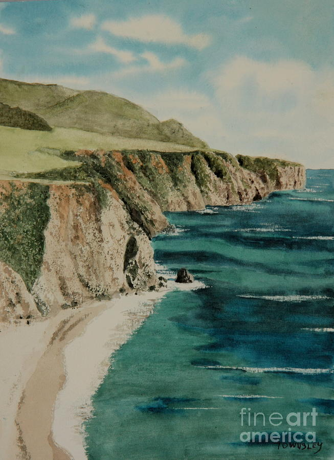 Big Sur by Frank Townsley
