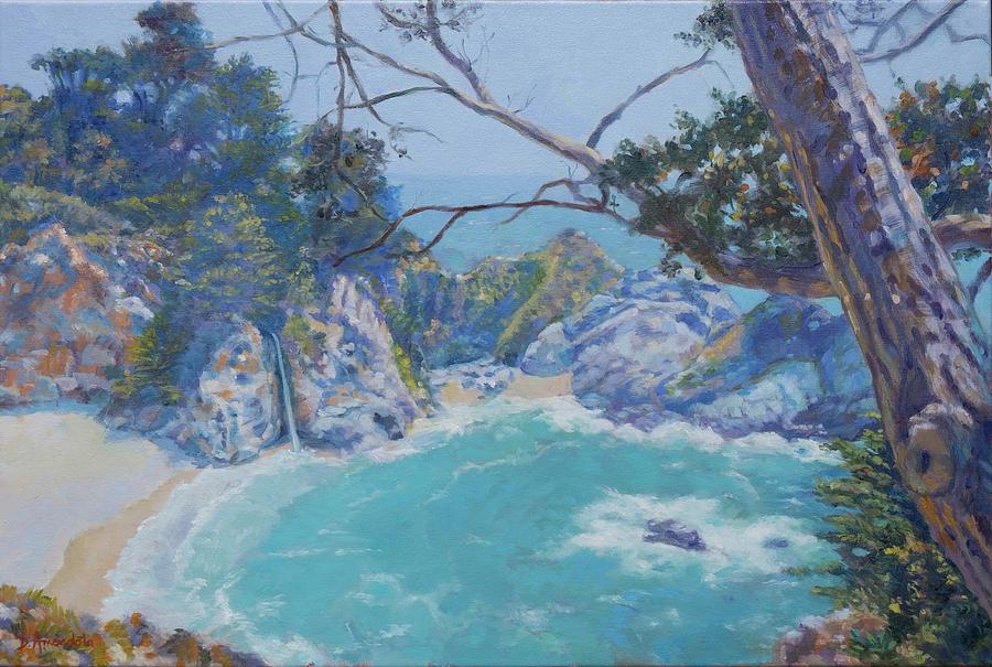 Big Sur-McWay Falls by Dominique Amendola