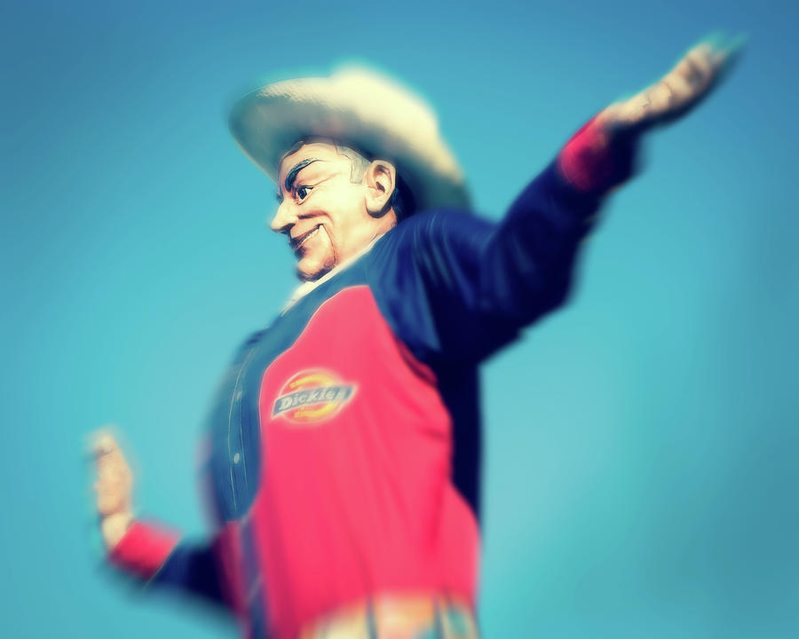 Big Tex Blur by Sonja Quintero