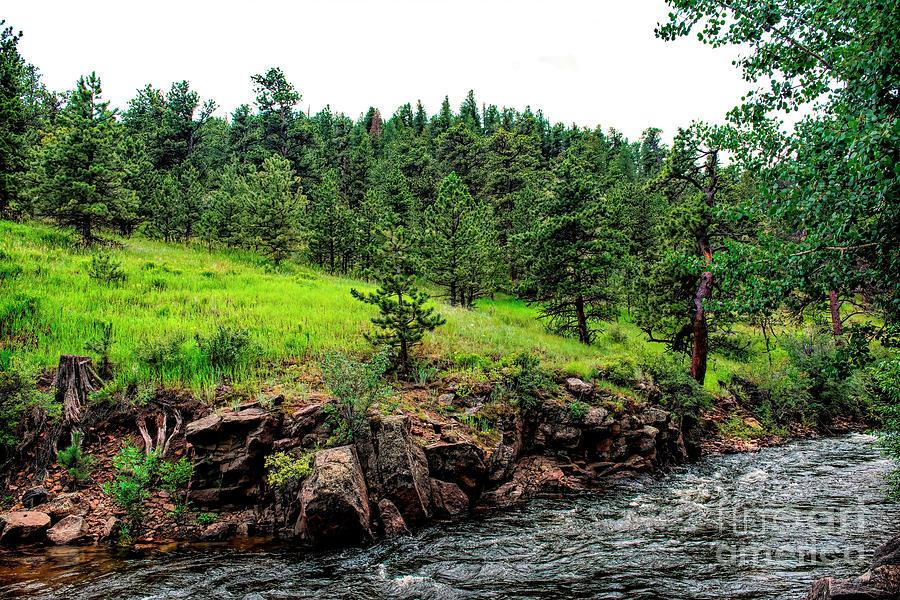 Big Thompson River in Estes Park by Jon Burch Photography