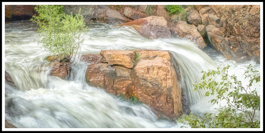 Big Thompson River, Rocky Mountains by A Gurmankin