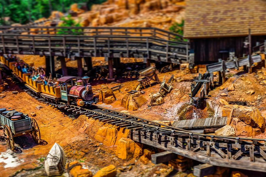 Big Thunder Mountain Railroad by Rodney Lee Williams