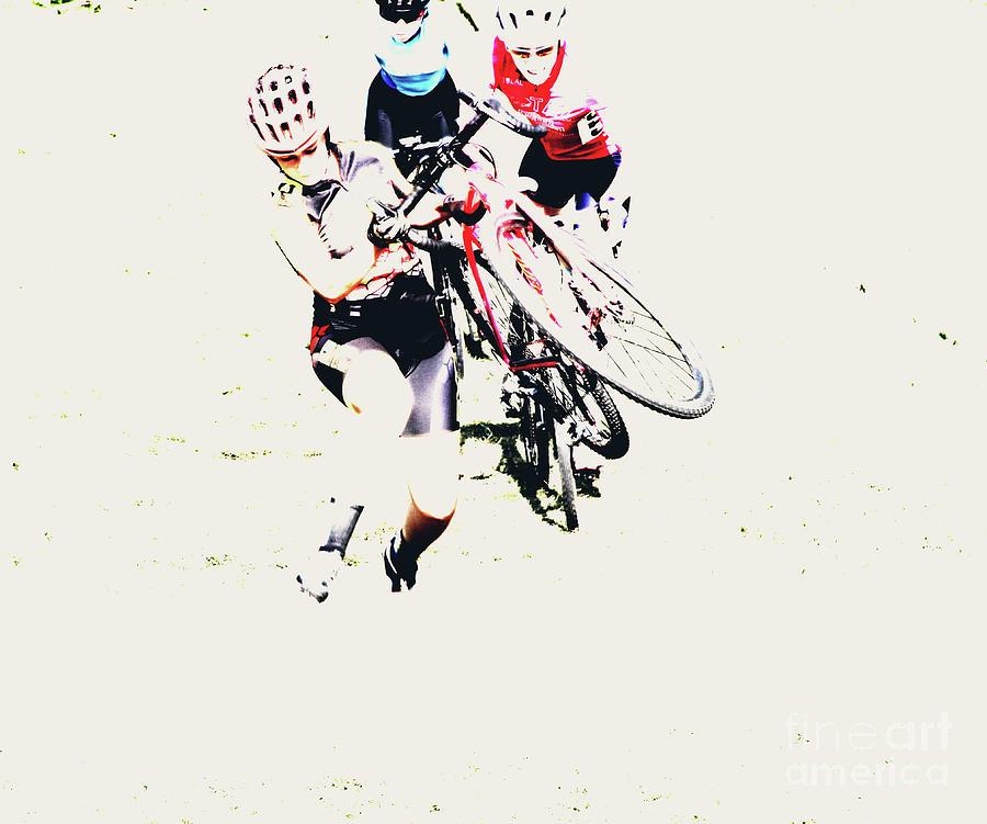 Cycling Photograph - Bike Acid  by Steven Digman