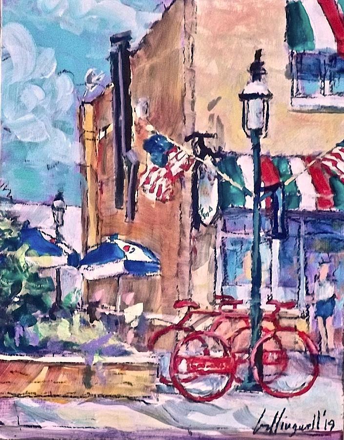 Bike, Bike Rack by Les Leffingwell