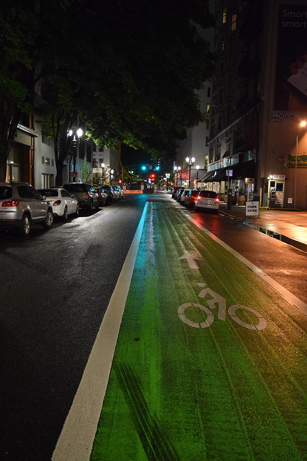 Bike Lane by Lkb Art And Photography