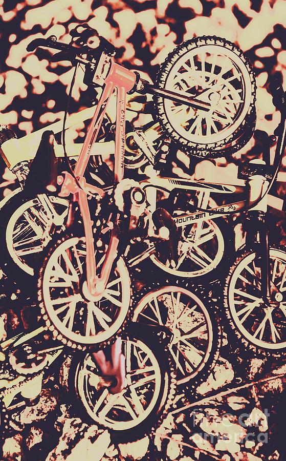 Mountain Bike Photograph - Bike Mountain by Jorgo Photography - Wall Art Gallery