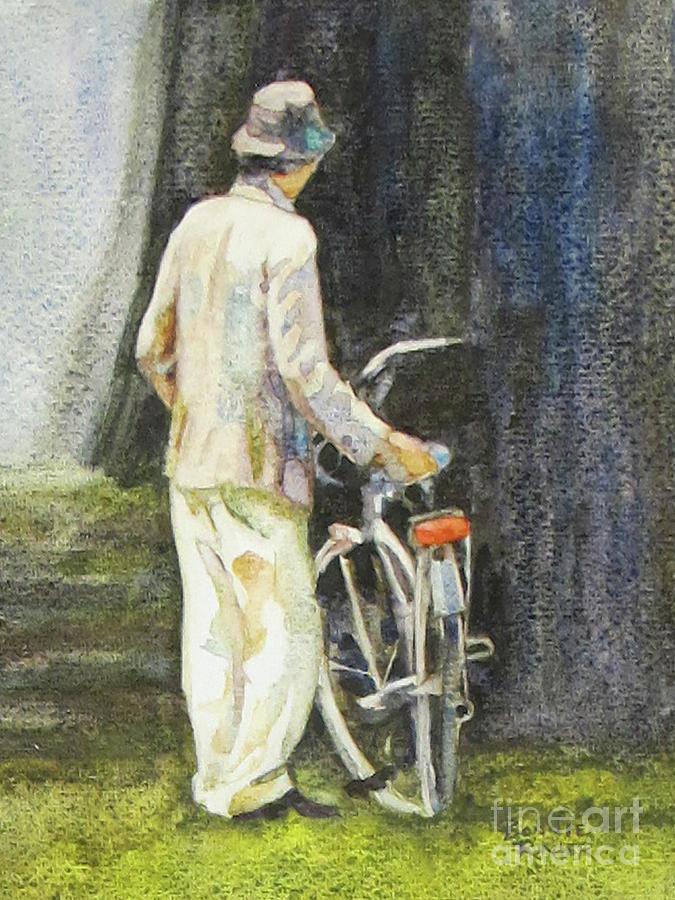 Bike Rest by BONNIE RINIER