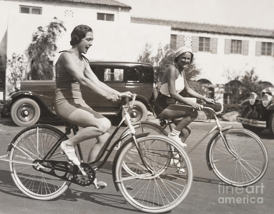 Friendship Photograph - Bike Riding Fun by Everett Collection
