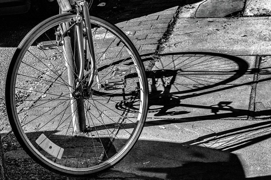 Bike Shadow by Tom Romeo