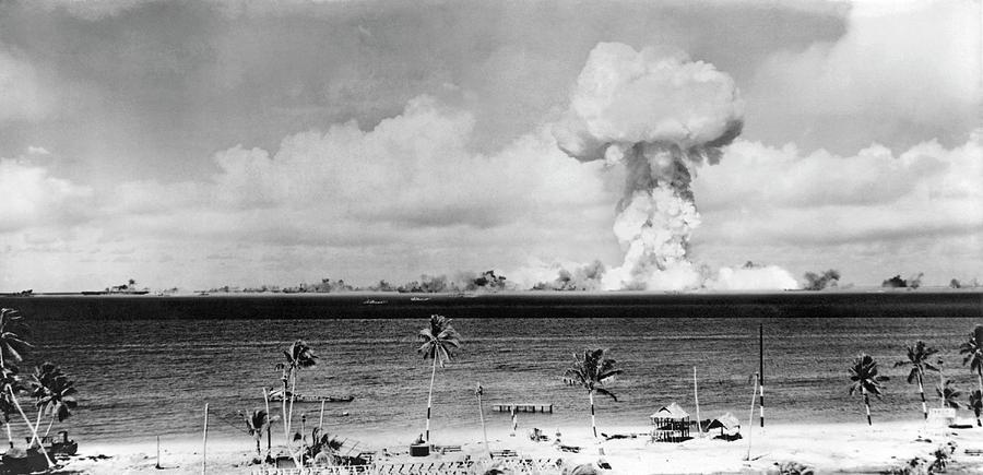 bikini America island bomb