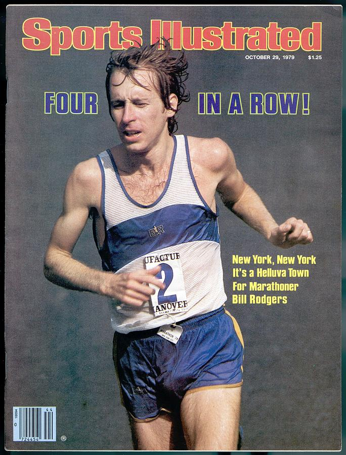 Bill Rogers, 1979 New York City Marathon Sports Illustrated Cover Photograph by Sports Illustrated