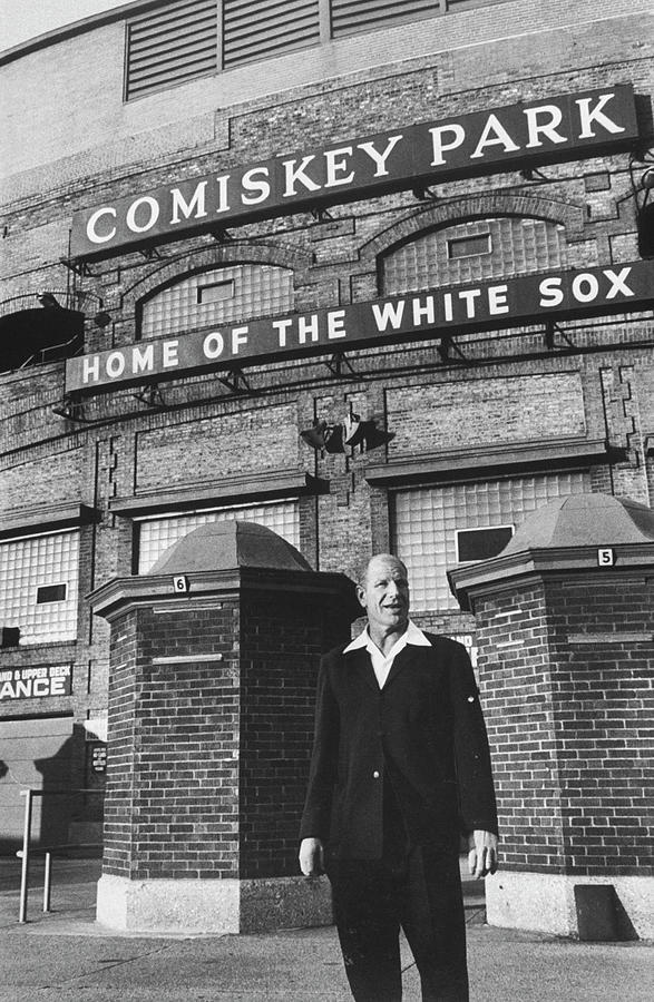 Bill Veeck Photograph by Francis Miller
