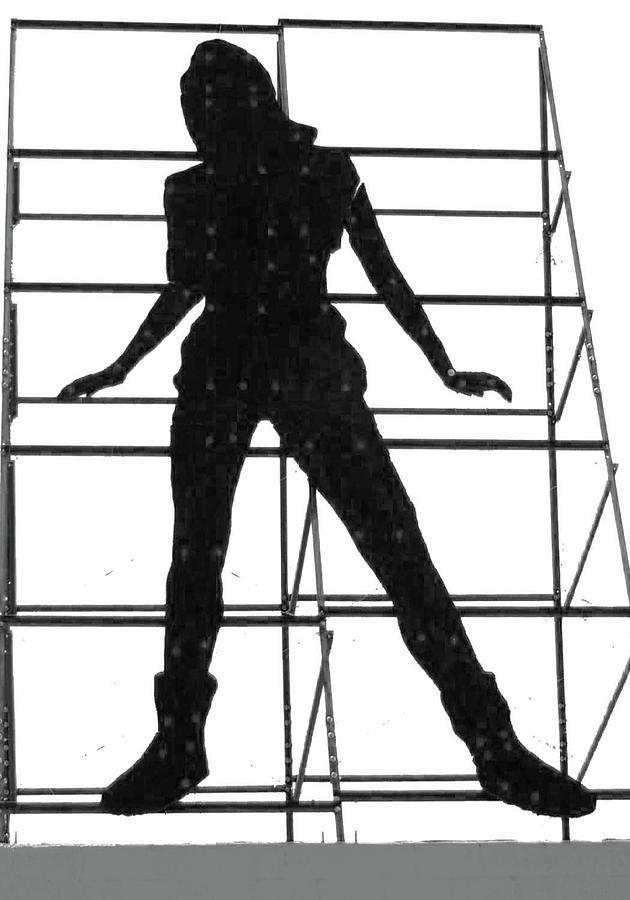 Billboard silhouette by Bob Duncan