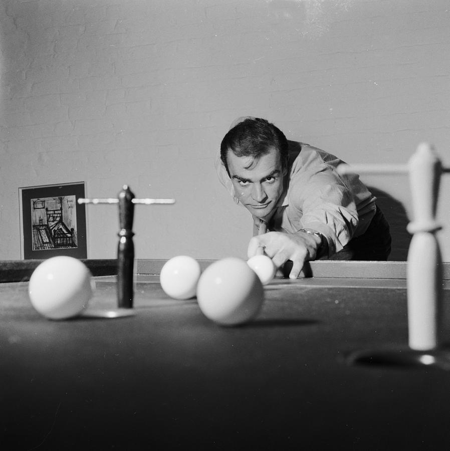 Billiard Bond Photograph by Chris Ware