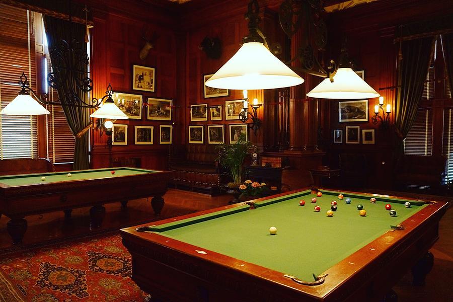 Billiard Room 2 by Rodney Lee Williams