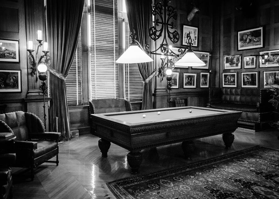 Billiard Room by Rodney Lee Williams