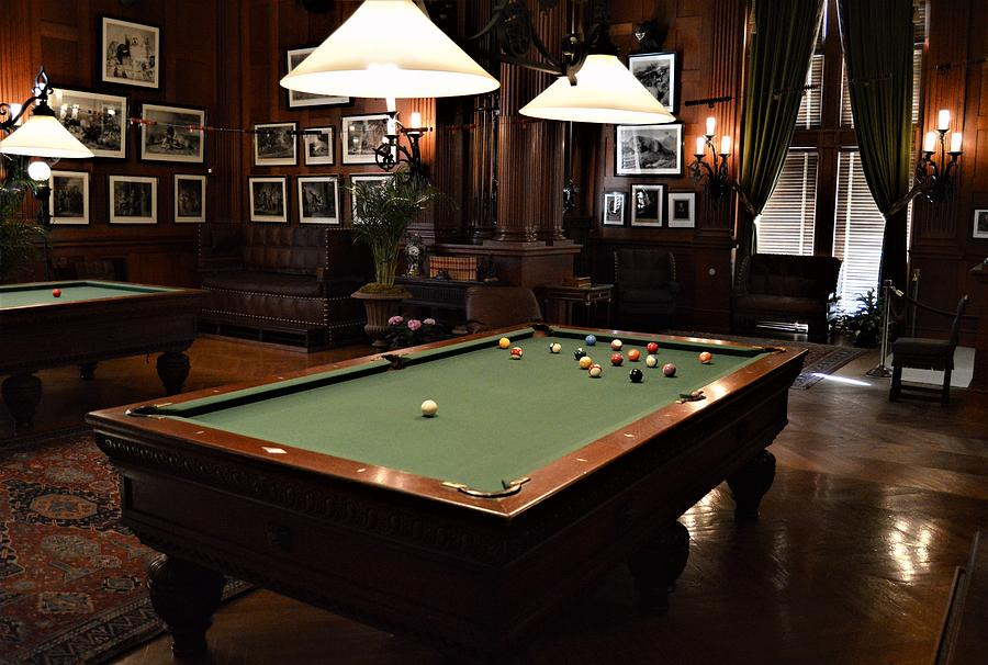 Billiards At The Biltmore by Warren Thompson