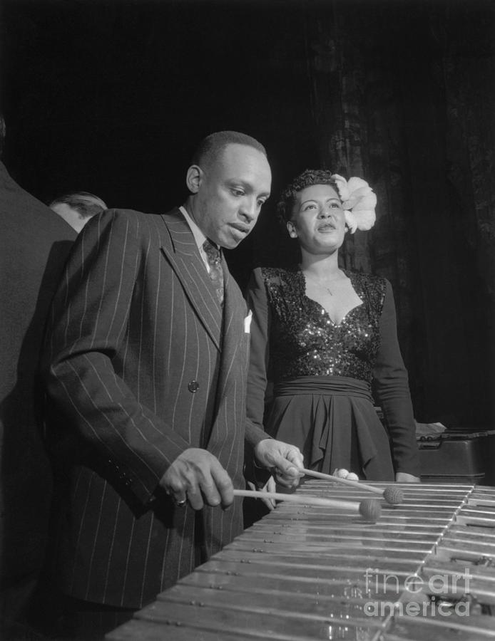 Billie Holiday And Lionel Hampton Photograph by Bettmann