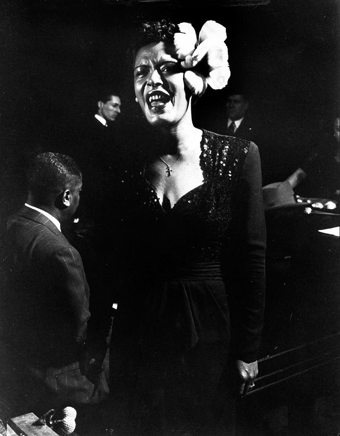 Billie Holiday Photograph by Gjon Mili