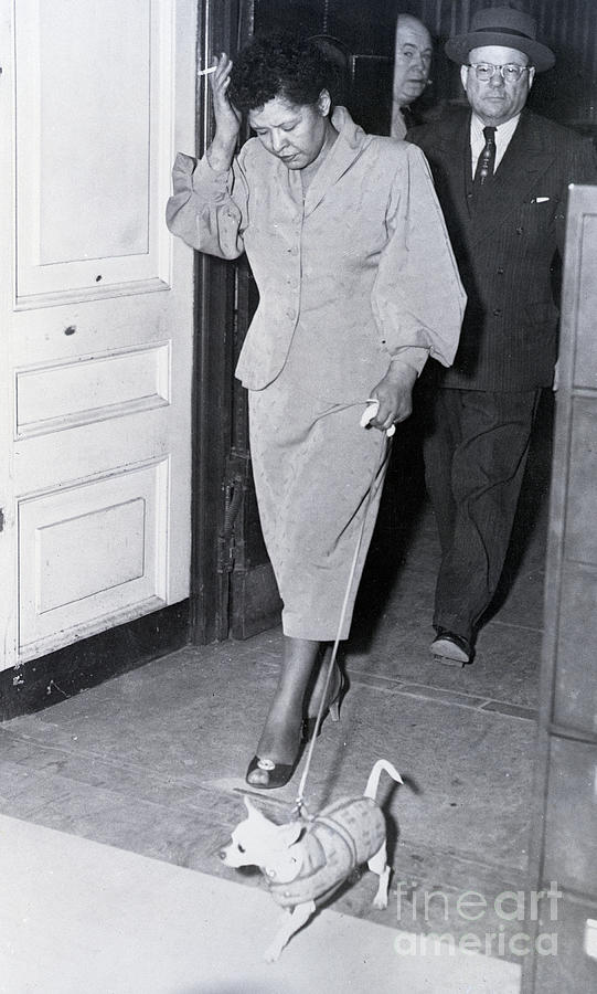 Billie Holiday Leaving Police Station Photograph by Bettmann