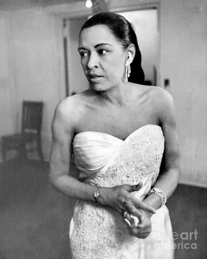Billie Holiday Photograph by New York Daily News