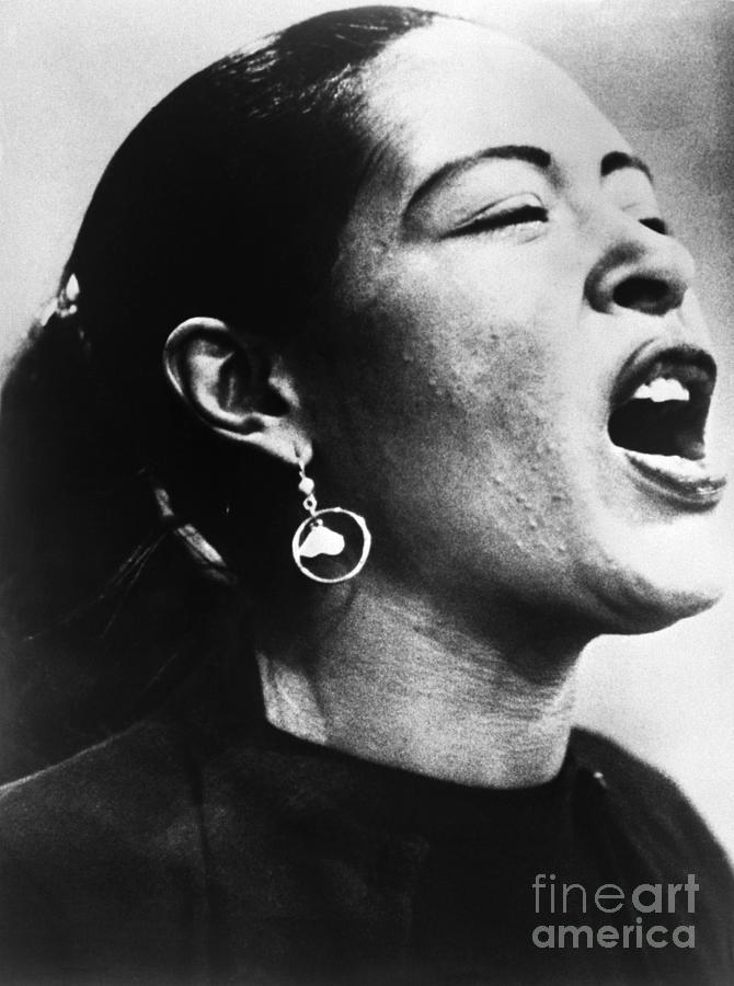 Billie Holiday Singing Photograph by Bettmann