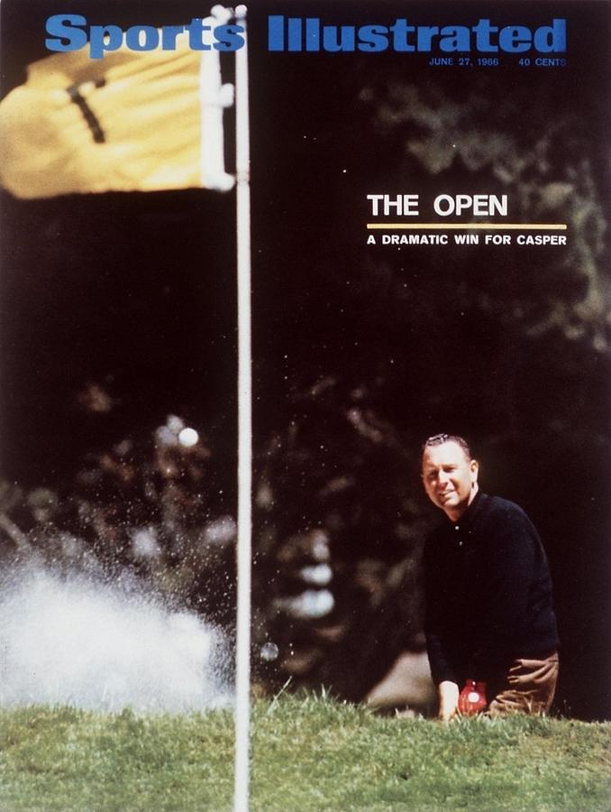 Billy Casper, 1966 Us Open Sports Illustrated Cover Photograph by Sports Illustrated