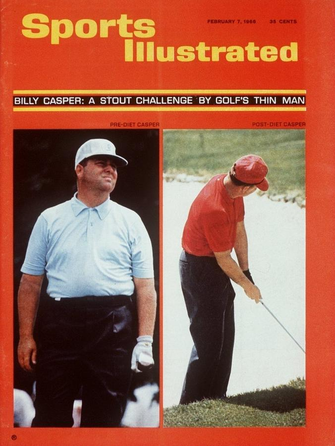 Billy Casper, Golf Sports Illustrated Cover Photograph by Sports Illustrated
