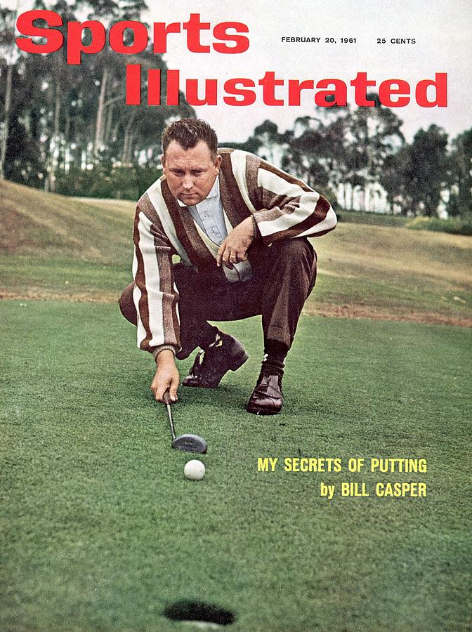 Billy Caspers Secrets Of Putting Sports Illustrated Cover Photograph by Sports Illustrated