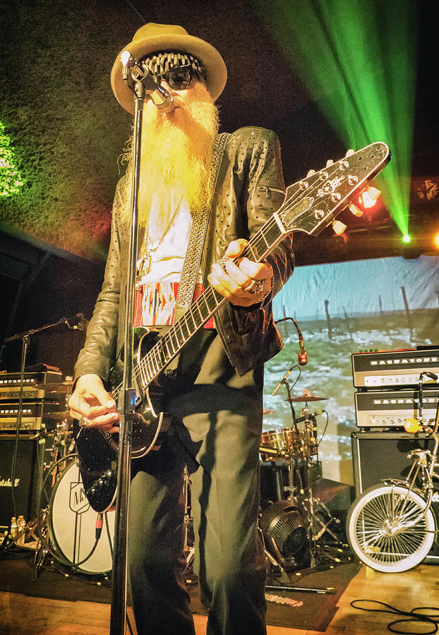 Billy Gibbons by Christopher Cutter