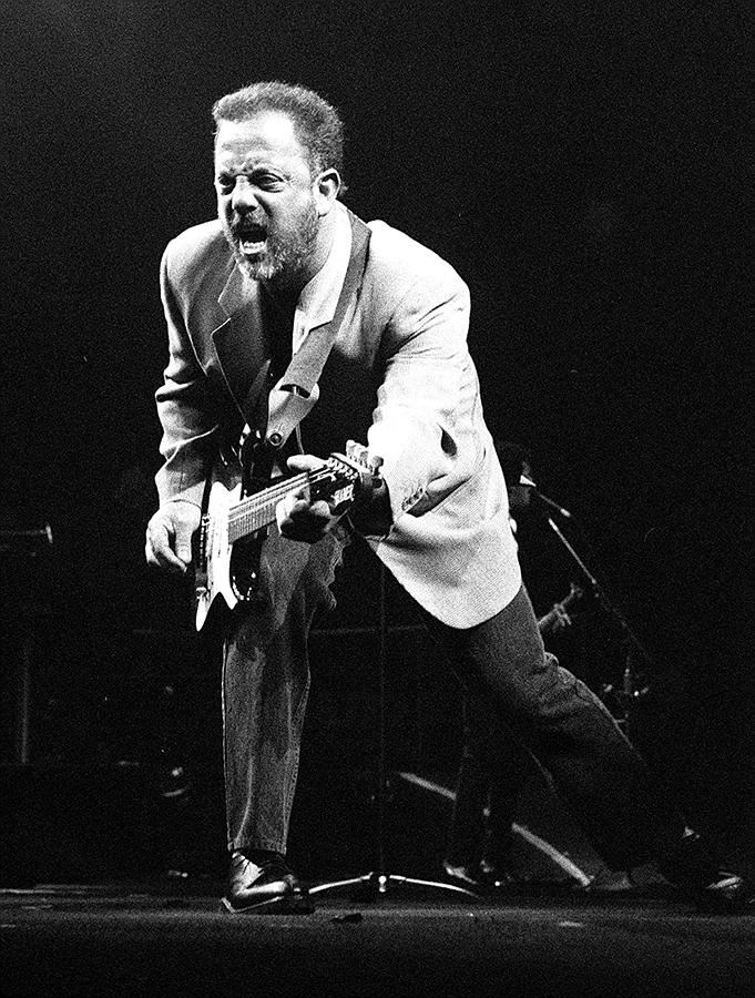 Billy Joel During A Performance At Photograph by New York Daily News Archive