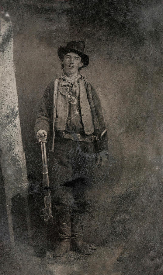 Billy The Kid Painting - Billy The Kid, 1880 by American School