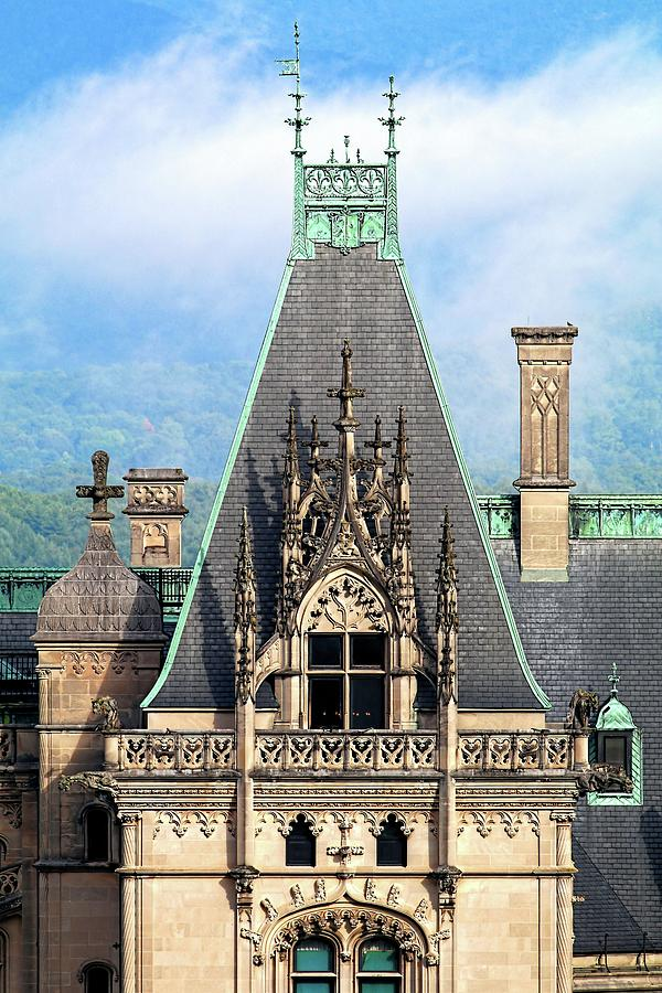 Biltmore Architectural Detail Photograph