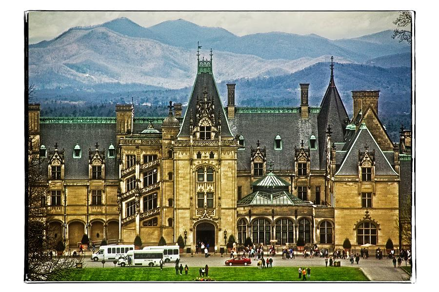 Biltmore House First View by Allen Nice-Webb