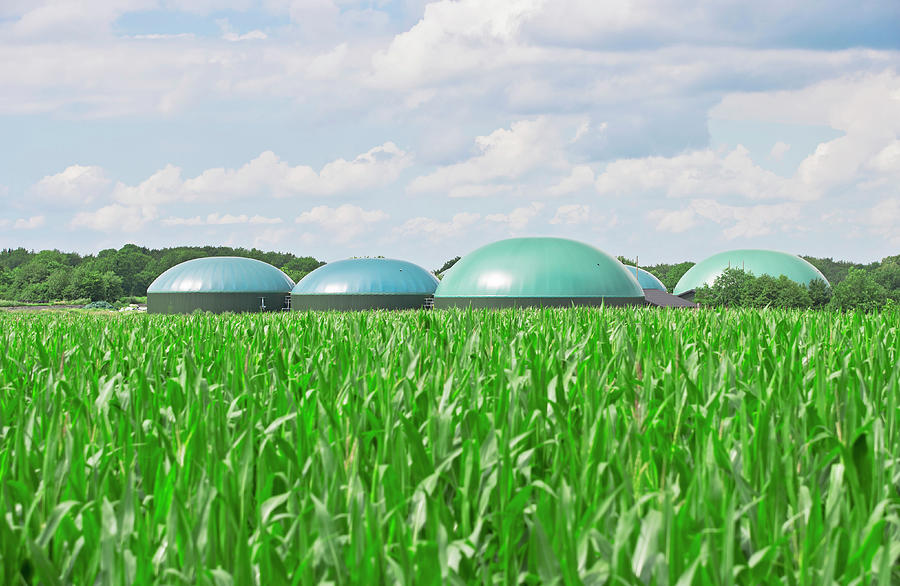 Biogas Energy Photograph by Jan-otto