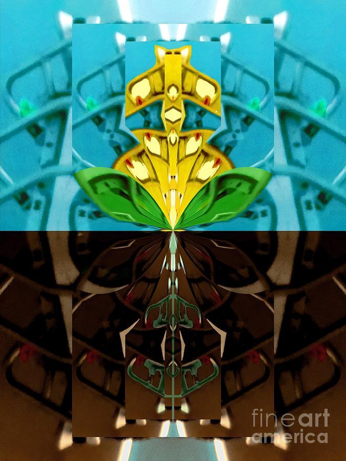BioMech Flower by Lori Kingston