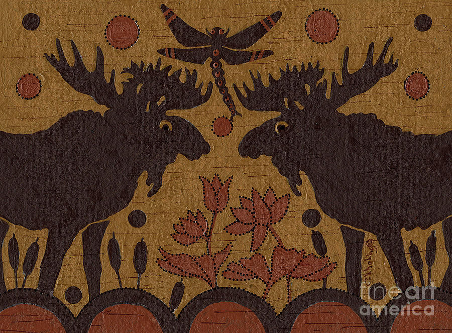 Birch Bark - Moose Medicine by Chholing Taha