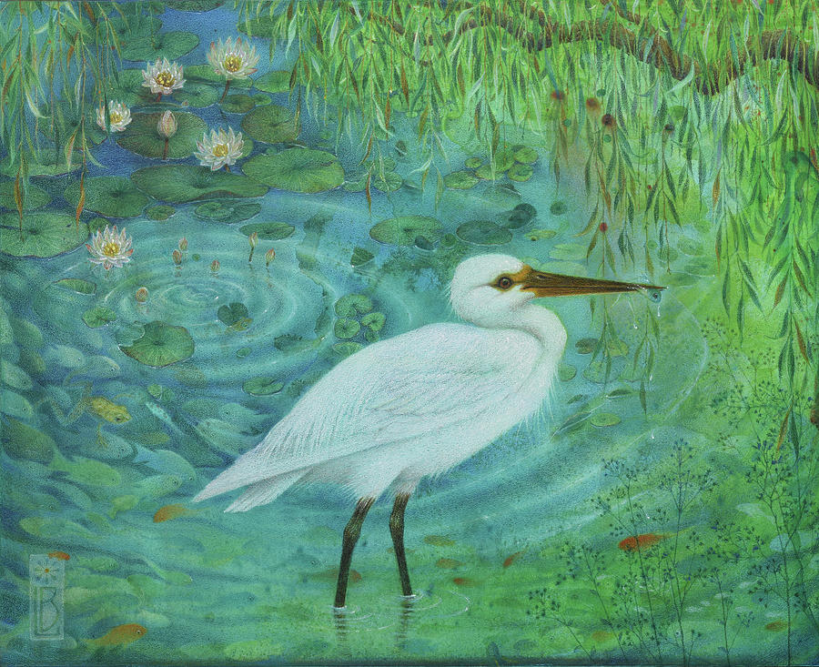 Bird Fishing by Lynn Bywaters