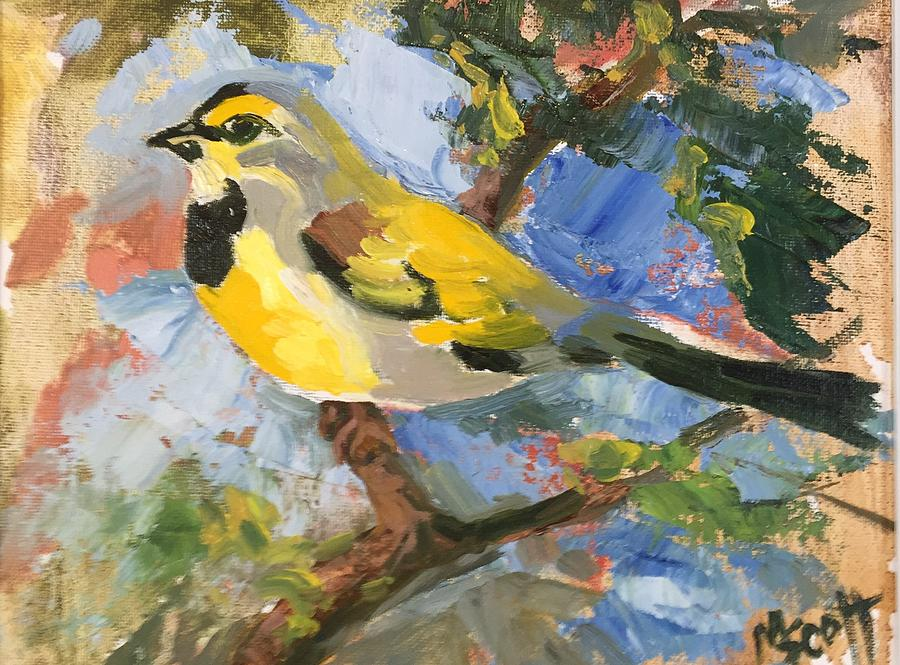 Bird Four by Mary Scott