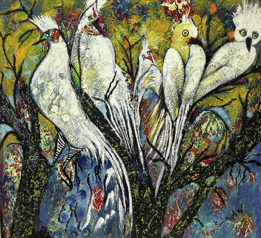 Bird of Paradise by Sima Amid Wewetzer
