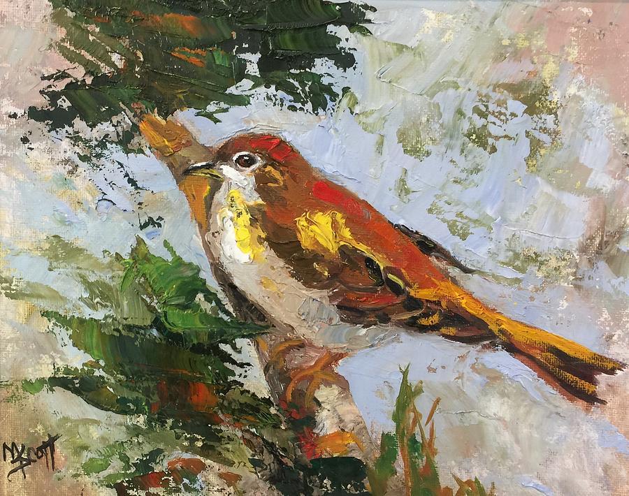 Bird Two by Mary Scott