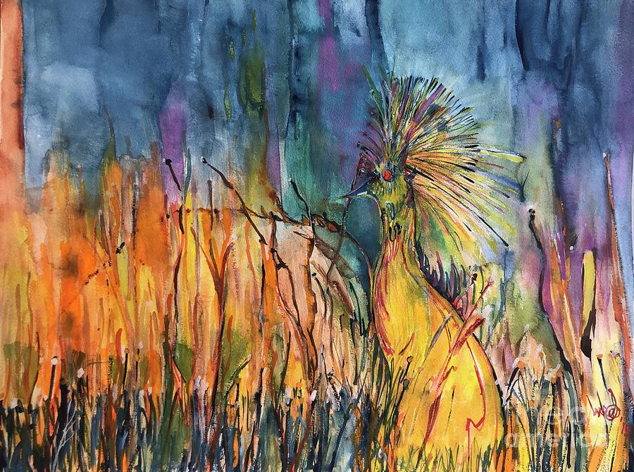 Birdland Painting by Glen Garnett