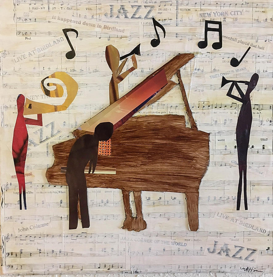Birdland Jazz by Mary Chris Hines