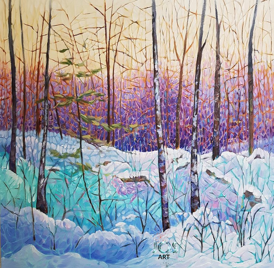 Birds Hill Trail Winter Walk by Joanne Smoley