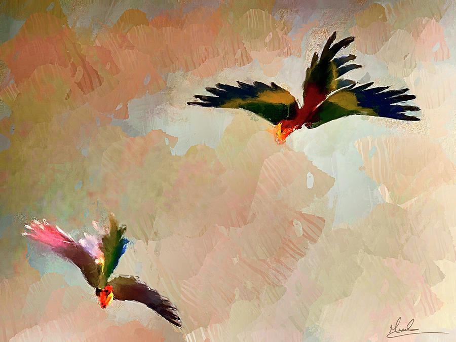 Birds II by GW Mireles