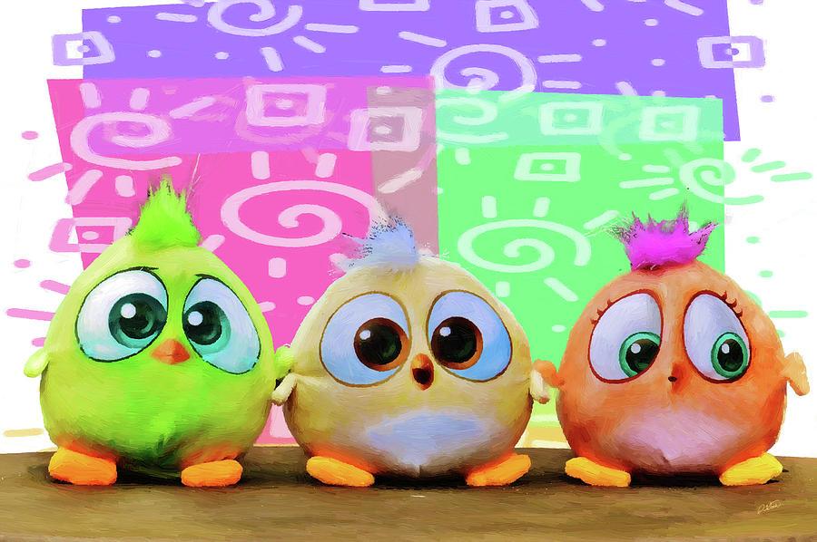 Birds in the Nursery by Dean Wittle