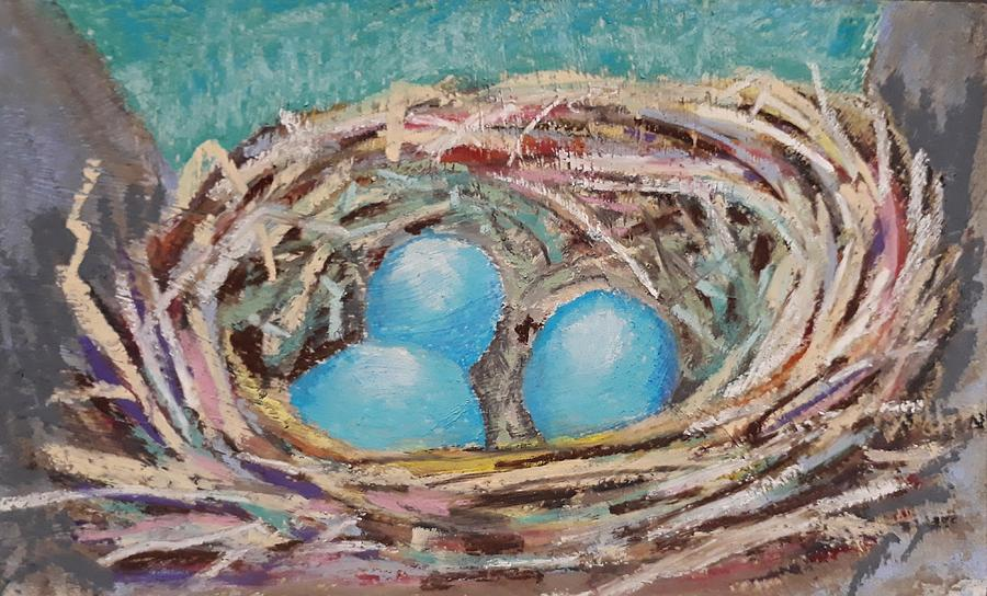 Birds Nest by Jacqui Simpson